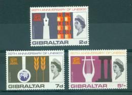 Gibraltar: 1966   U.N.E.S.C.O.    MNH - Gibilterra