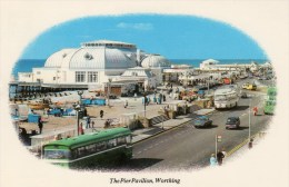 Postcard - Worthing Pier Pavilion, Sussex. WHG312 - Worthing
