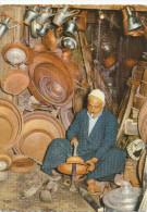 Iraq, Baghdad, Bagdad, Copper Market , Silversmith , - Old Postcard - Irak