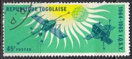 Togo, 1964 - 20fr Nimbus, Syncom And Relay - Nr.502 Usato° - Togo (1960-...)