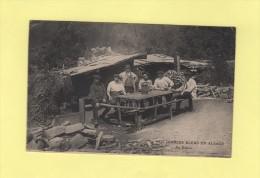 Nos Diables Bleus En Alsace - Au Repos - Alsace
