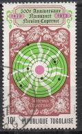 Togo, 1973 - 10fr Ncolaus Copernicus - Nr.842 Usato° - Togo (1960-...)
