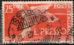 PIA - REP - 1945-52 : Francobollo Per Espressi   - (SAS 28) - 6. 1946-.. Repubblica