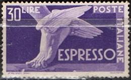 PIA - REP - 1945-52 : Francobollo Per Espressi   - (SAS 29) - 6. 1946-.. Repubblica