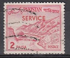 Pakistan, 1961 - 2p Overprint - Nr.O77 Usato° - Pakistan