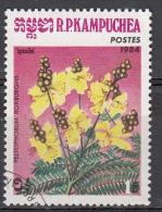 Cambogia, 1984 - 1r, Peltophorum Roxburghii - Nr.514 Usato° - Cambogia