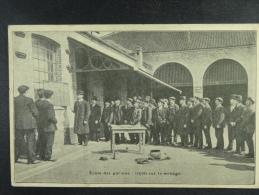 Charbonnages de Monceau Bayemont & Chauw-�-Roc Ecole des porions : le�on de minage