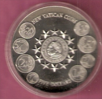 LIBERIA 5 DOLLARS 2003 NEW VATICAN COINS - Liberia