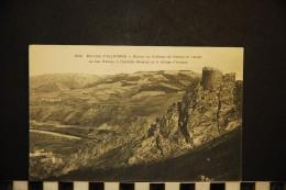 CP, 43, Environs D'ALLEYRAS Ruines Du Château De Vabres Et L'Allier N° 3834 Vierge - Francia