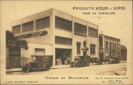 75 PARIS 14 / Usine Et Bureaux, Produits Xour Et Xiris Pour La Chevelure, Rue Lecuirot / - Arrondissement: 14