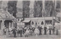 Cpa,allemagne,schaefer´s Marchenstadt,LILIPUT,berl In,métier Du Cirque Avec Des Nains,et Mini Chevaux,rare - Unclassified