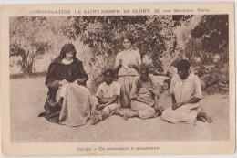 Congo,aide Aux Africains,en Attendants Le Pansement,congrégation De Saint Joseph De Cluny,soeur Bénévole,rare - Congo Français - Autres
