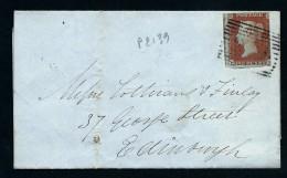 GRANDE GRETAGNE- LETTRE POUR EDIMBOURGH  1850   A  VOIR  LOT P2139 - 1840-1901 (Victoria)