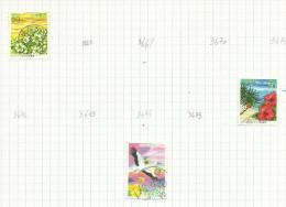 Japon N°3669, 3676, 3677 Côte 3.25 Euros - 1989-... Emperador Akihito (Era Heisei)