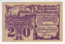 AUTRICHE - Billet De 20 Heller. Pick: S120b. NEUF - Autriche