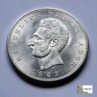 Ecuador - 5 Sucres - 1943 - Ecuador