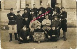 24 Janvier 1918-carte Photo-soldats Du 112e Régiment D'artillerie Lourde - Guerre, Militaire