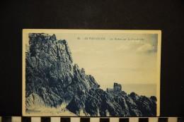 CP, 44, LE POULIGUEN Les Rochers Sur La Grande Cote N°45 Edition G Artaud RARE Carte - Le Pouliguen