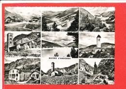 ANDORRE ANDORRA Cpsm  Multivues  12 Apa - Andorra