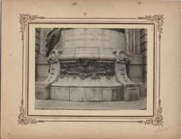 Rennes Union De La Bretagne à La France  Photo Collée . Dimensions:12cmx16,5cm. Parfait état. Inscription - Histoire