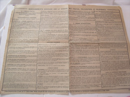 CARTE DE FRANCE DE 1945 - Calendriers