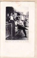 Us046 Peu Commun TEXAS TEX Truppe La BELLA Del RIO GRANDE Cow-Girl Et Son Brigand Mexicain 1910s - ZIENIER 5645 - El Paso