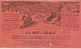 Visite de la Mer de Glace, Chemin de Fer de Chamonix � Montenvers ( 2 scans)