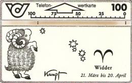 *AUSTRIA* -  Scheda Usata - Zodiaco