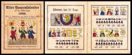 Alter Bauernkalender Für Das Gemeinjahr 1953 - Calendari