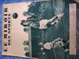 MIROIR DES SPORTS N°  1062   9 MAI  1939   FOOTBALL  ROUEN SETE - 1900 - 1949