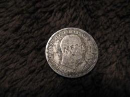 50 LEPTA 1901 - Crete - Grece - Argent - Greece