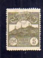 SAN MARINO 1921 1923 CIFRA 5 CENTESIMI MNH OTTIMA CENTRATURA - Ungebraucht