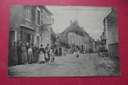C P  Corvol L'orgueilleux La Grande Rue ( Cote Ouest) - Otros Municipios