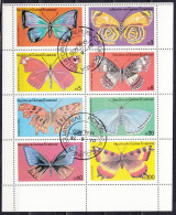 Guinea Equatoriale, 1978 - Butterfly - Foglietto Usato° - Guinea Equatoriale