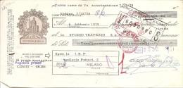 Q-CAMBIALE  1978-REGOLRMENTE BOLLATA AL RETRO - Cambiali