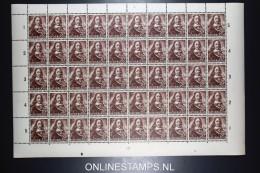 Netherlands: Complete Sheet Of NVPH Nr 417  1943   MNH/** - 1891-1948 (Wilhelmine)