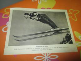 Propaganda Card German Arosa Switzerland Willy Klopfenstein WWII - Documents