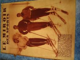MIROIR DES SPORTS N�  982   21 DEC 1937   SKI   AGNEL