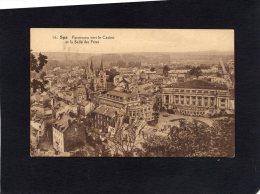51725    Belgio,    Spa,  Panorama Vers Le Casino Et La Salle Des Fetes,  NV - Spa