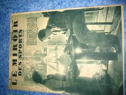 MIROIR DES SPORTS N�  984   4  JANVIER 1938  CYCLISME  MAURICE ARCHAMBAUD REVEILLON NOUVEL AN