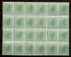 Autriche YT n� 95 en bloc de 24 timbres neufs ** MNH. TB. A saisir!