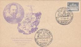 JOHANN KEPLER, ASTRONOMER, SPECIAL POSTCARD, 1963, GERMANY - Astrology