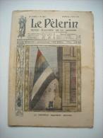 LE PELERIN 1835 de 1912.LE NOUVEAU DRAPEAU CHINOIS. AVIATEUR GRAHAM GILMOUR SE TUE.M. ET MME MARC, DE KERDREANTON.