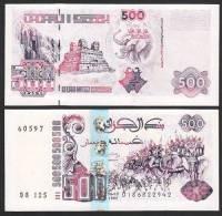 ALGERIA :  Banconota 500 Dinari - 1998 - P141 - FDS - Algeria