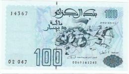 ALGERIA :  100 DINARS - 1992 - P137 - UNC - Algeria