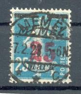Memel 122 LUXUS Gest. 17EUR (N0277 - Memelgebiet