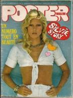 POSTER  MAGAZINE  SYLVIE  VARTAN  -  septembre 1974