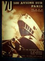 VU #338 Sept.1934 Aviation Arm�e 1�re Manoeuvre au Bourget/ Arabie Arabia par Henry De Monfreid/ Theatre Forain Ferranti