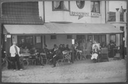 59 - Carte Photo - BRAY DUNES - Restaurant LOUIS - Boulevard International - Devanture - Localisation Garantie - Bray-Dunes