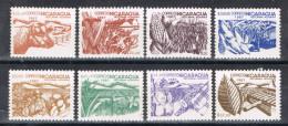R 885. Serie NICARAGUA, Agricultura, Reforma Agraria 1987 ** - Nicaragua
